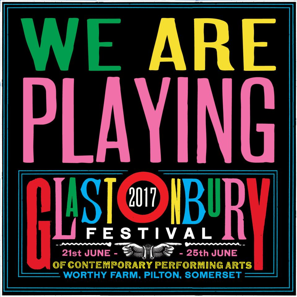 Glastonbury 2017 Poster