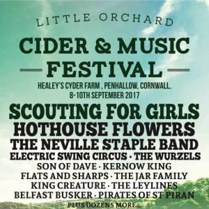 Poster for Little Orchard Cider & Music Festival