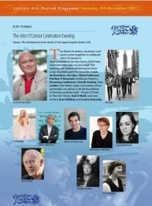 The John O'Connor Celebration Poster