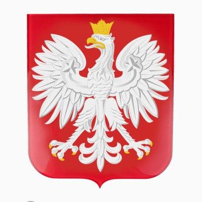 Szklany Herb Polski do zawieszenia na ścianie. Płaskie godło ze szkła., Szklane Godło Polski do urzędu, godło do szkoły.