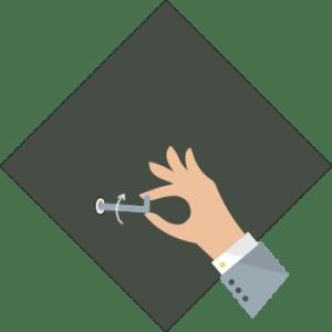 Instrukcja montażu - mocowanie na zawieszce - krok 3 - wkręcanie haka