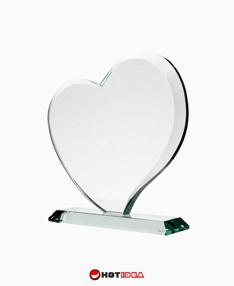 Statuetka szklana Lover - szkło szlifowane G041, statuetka ręcznie szlifowana