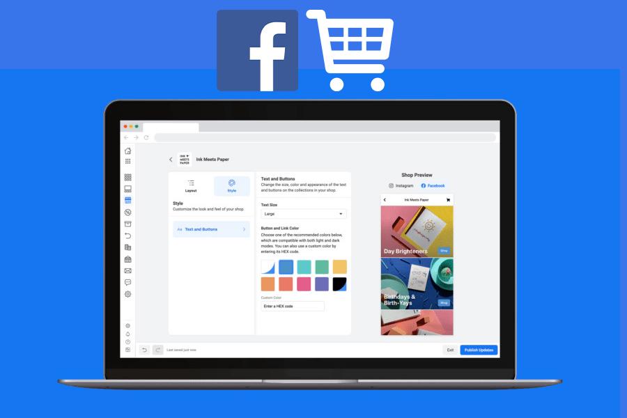 معلومات عن متاجر فيسبوك التي تم إطلاقها لمساعدة الشركات الصغيرة ...