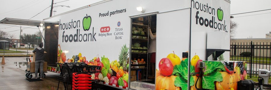 Houston Food Bank To Provide Mobile Market Through Heb And Texas