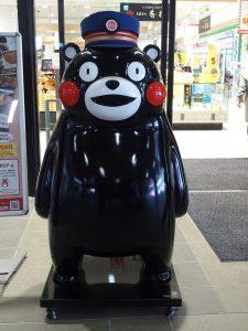 熊本駅 くまモン