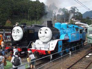 ヒロとトーマス機関車