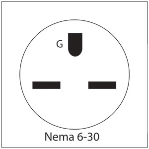 nema 14 30 plug wiring diagram 1 way dimmer switch special plugs for liberty belle kilns l electric kiln accessories