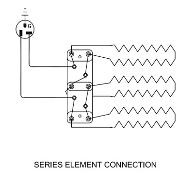 duncan kiln wiring diagram designed what do i if the display is normal but won t heat up series element connection for a with three elements