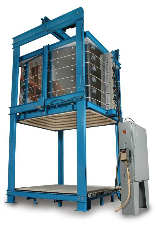 small resolution of l l 100 cubic foot bell lift production kiln