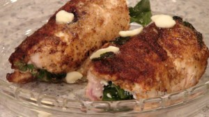 Hot Kitchen - Hun What's for Dinner Firehouse Stuffed Chicken Recipe