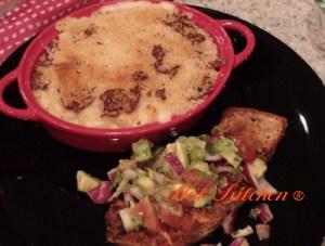Hot Kitchen - Salmon with Avocado Salsa, Smoked Gouda Mac n Cheese recipes