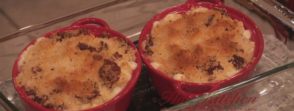 Smoked Gouda Mac n Cheese recipe featured in episode #75