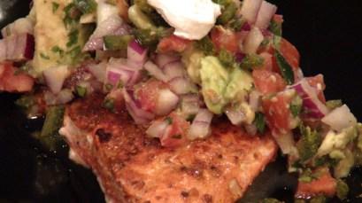 Chef Chris Nicholson's Roasted Salmon