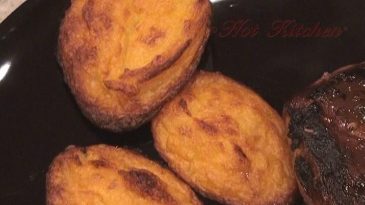 Hot Kitchen potato Pillows recipe demonstration