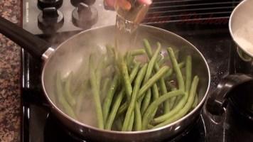 Hot Kitchen Supreme Green Beans Recipe Demonstration