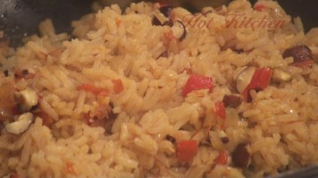 Hot Kitchen Decadent Curried Rice Recipe Demonstration