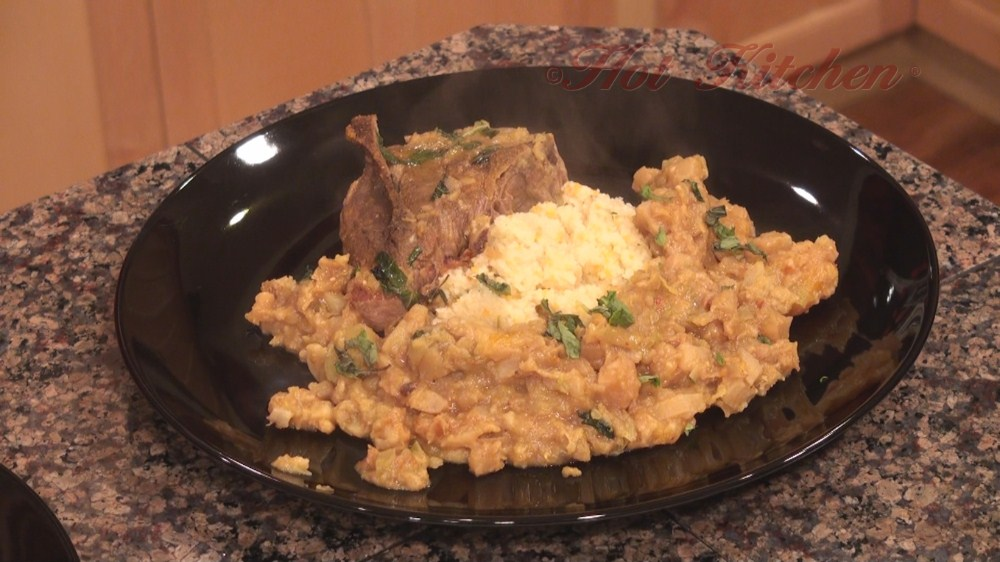 Hot Kitchen Lamb and Lentils Recipe Demonstration