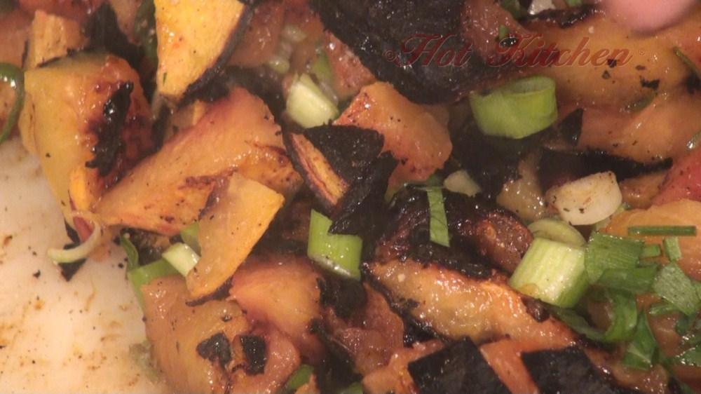 Hot Kitchen Grilled Peach Salsa Recipe Demonstration