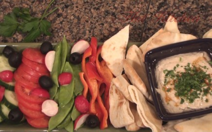 Hot Kitchen White Bean Hummus Recipe Demonstration