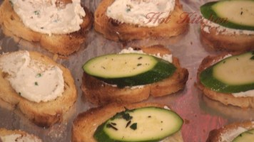 Hot Kitchen Bianca Zucchini Crostini Recipe Demonstration