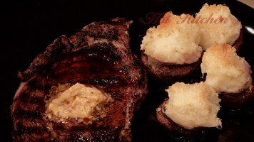 Hot Kitchen Coffee Rubbed Ribeye, Potato Stuffed Mushrooms Recipe Demonstration