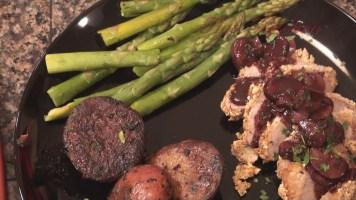 Hot Kitchen Dijon Encrusted Tenderloin Recipe Demonstration