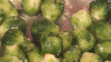Hot Kitchen Cheesy Brussels Sprouts Recipe Demonstration