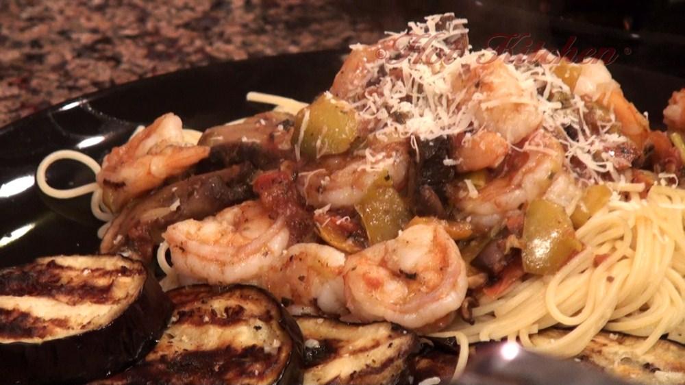 Hot Kitchen Shrimp Primavera Recipe Demonstration
