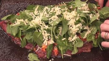 Hot Kitchen - Stuffed Flank Steak Recipe Demonstration