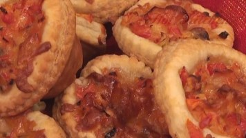 Hot Kitchen - Savory Tartlets Recipe Demonstration