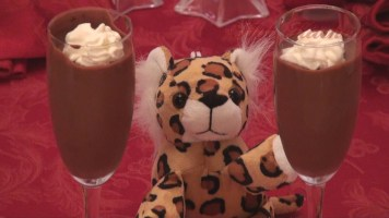 Lover's chocolate mousse - hot kitchen chocolate mousse recipes demonstration
