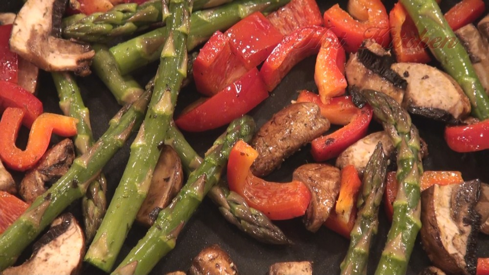 veggie recipes - Hot Kitchen Recipe Demonstration