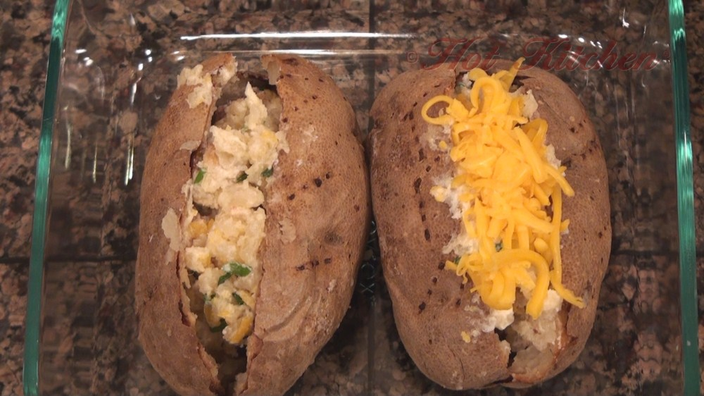 Twice Baked Potato recipes - Hot Kitchen Recipe Demonstration]