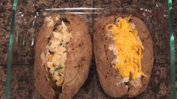 Twice Baked Potato recipes - Hot Kitchen Recipe Demonstration]