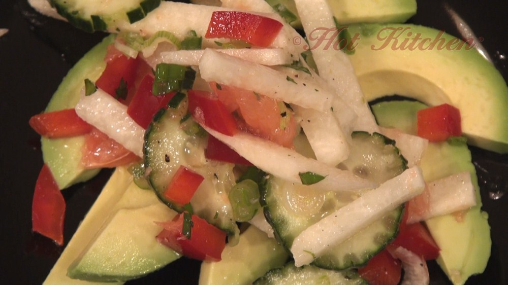 jicama salad recipes, tex-mex recipes - hot kitchen recipe demonstration