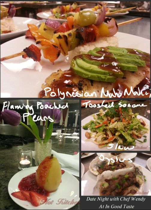 date night dinner, date night cooking classes, hot kitchen
