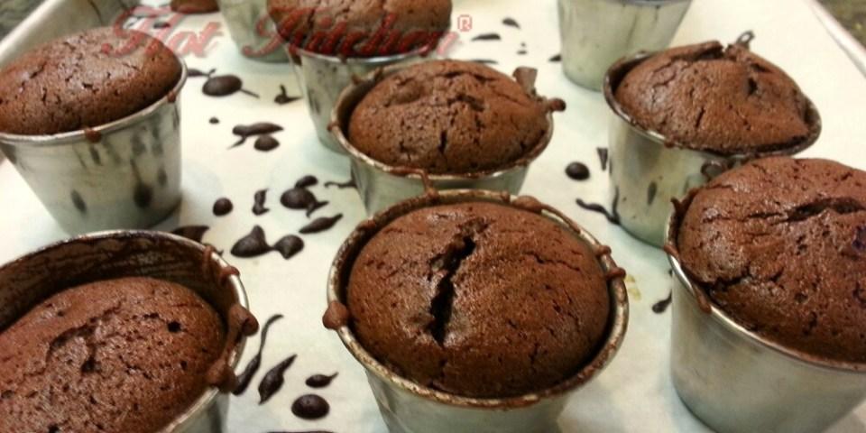 Chocolate Souffle Shots