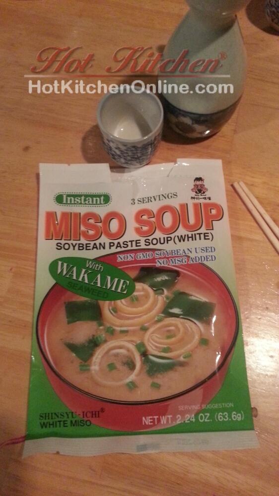 Gross miso soup mix