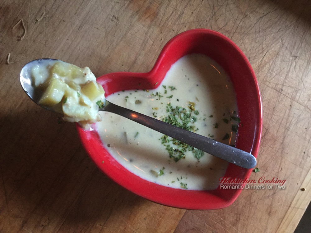 Crab Chowder Recipe: Finished!