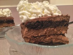 Devastating Chocolate lasagna composition