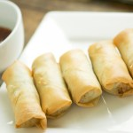Pork and Glass Noodle Spring Rolls and…Another Phone Call