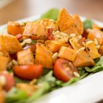 Sweet Potato Salad and…'Wanna Be Friends on Facie?'