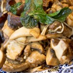 Stir-Fried Mushrooms and Downtime