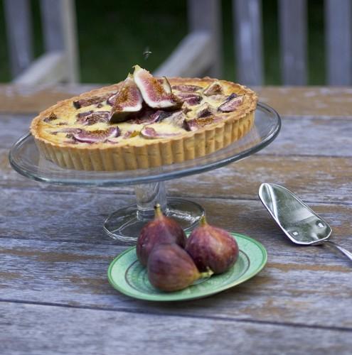 Baked Fig Tart