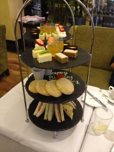 The gluten-free high tea, $40/person