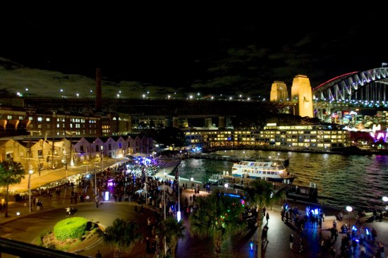 The Carnival Spirit leaves Sydney