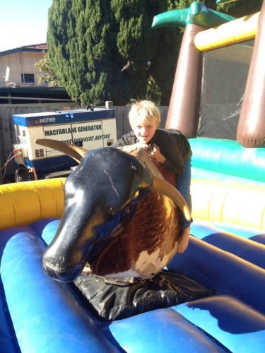 A 29 second ride on the bucking bull