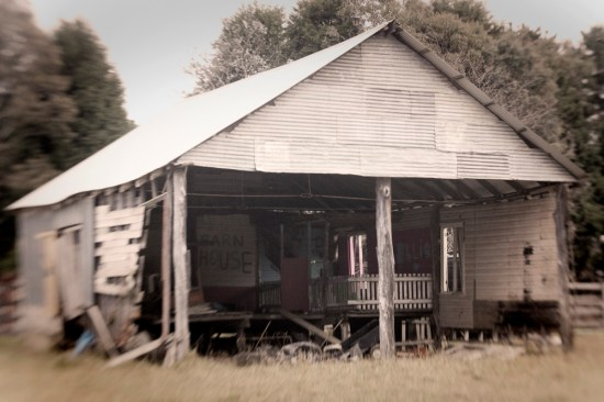An old shed