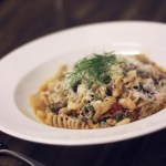 Pasta with Sausage, Fennel and Beans and…A Crushed Toe