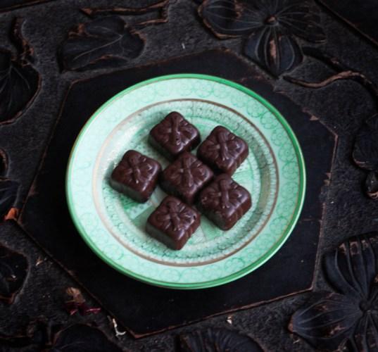 Hazelnut Crunch Chocolates